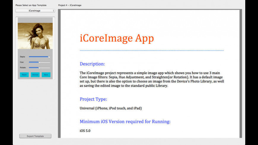 Apps Source Code for Mac - review, screenshots