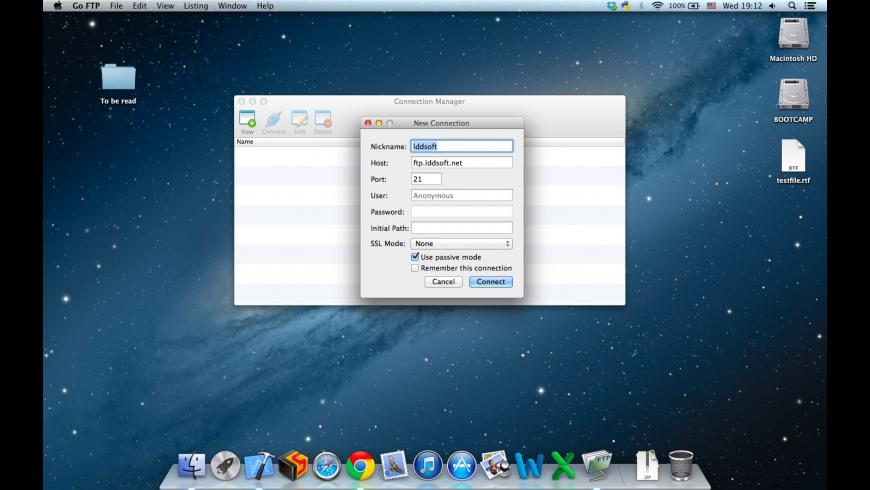 Go FTP for Mac - review, screenshots
