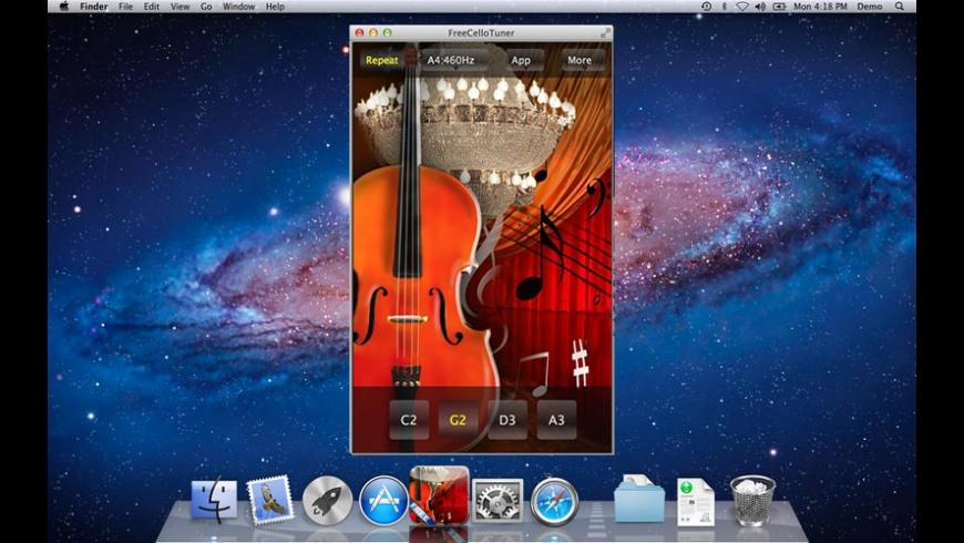 FreeCelloTuner for Mac - review, screenshots
