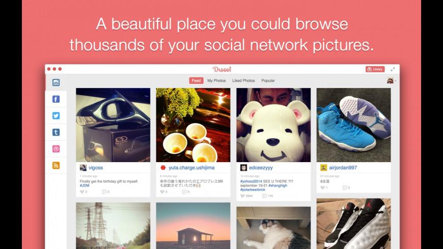 Droool for Mac - review, screenshots
