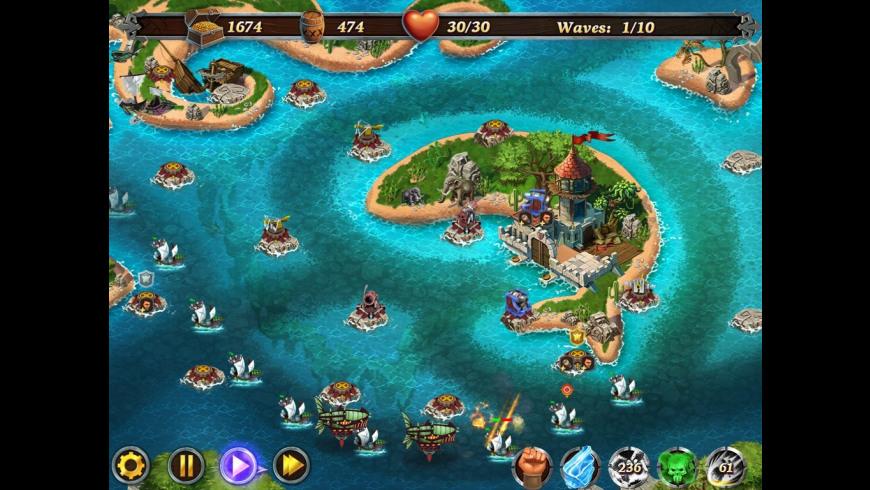 Fort Defenders Seven Seas for Mac - review, screenshots