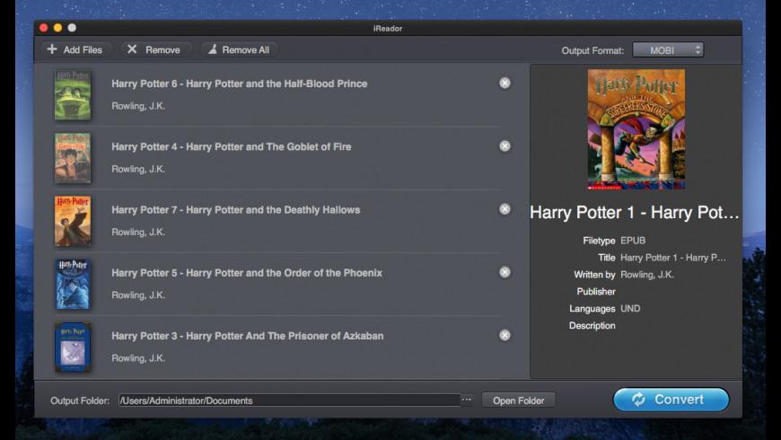 iReador for Mac - review, screenshots
