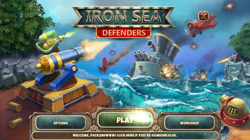 Iron Sea Defenders for Mac - review, screenshots