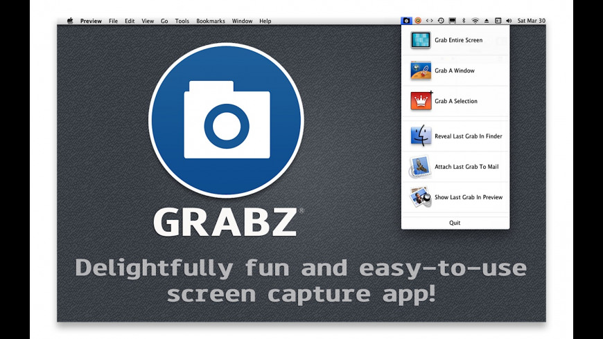 Grabz for Mac - review, screenshots