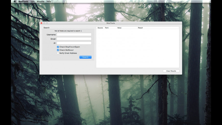 ModTools for Mac - review, screenshots