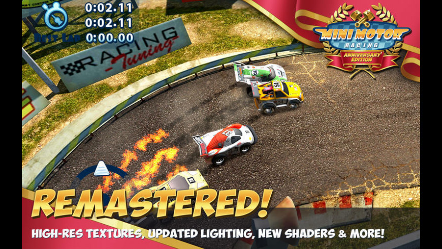 Mini Motor Racing for Mac - review, screenshots