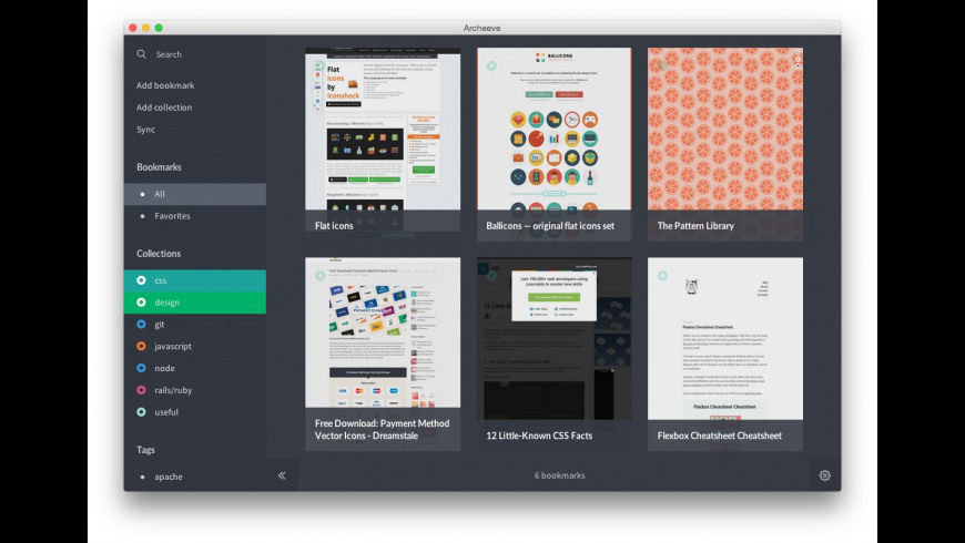 Archeeve for Mac - review, screenshots