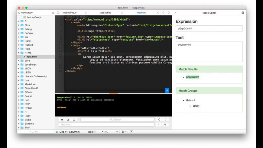 Peppermint for Mac - review, screenshots