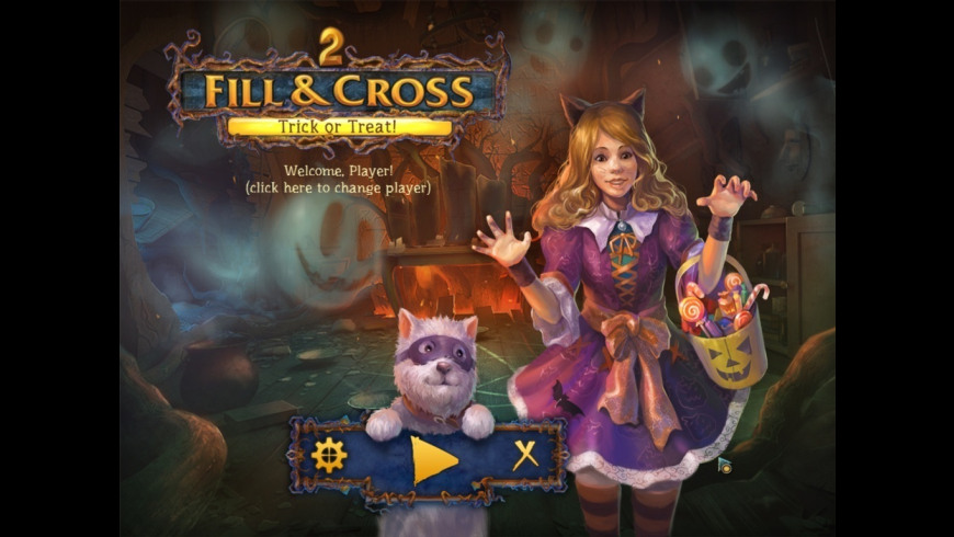 Fill and Cross Trick or Treat 2 for Mac - review, screenshots