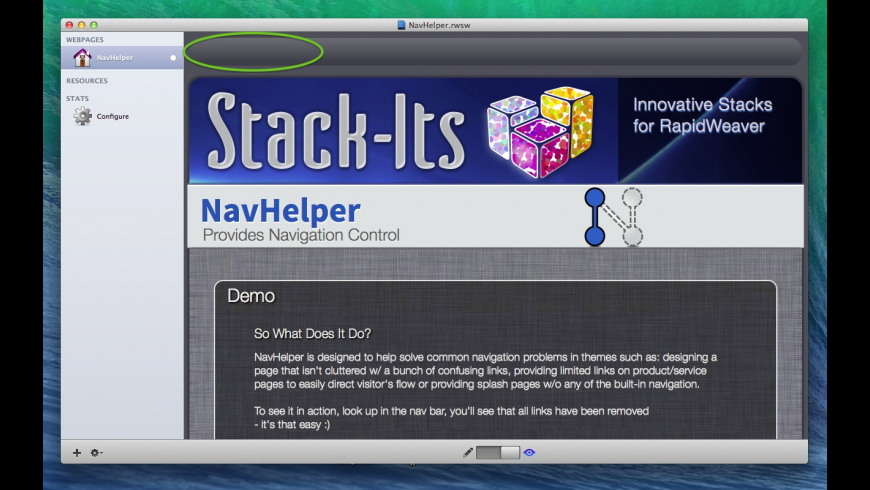 NavHelper for Mac - review, screenshots