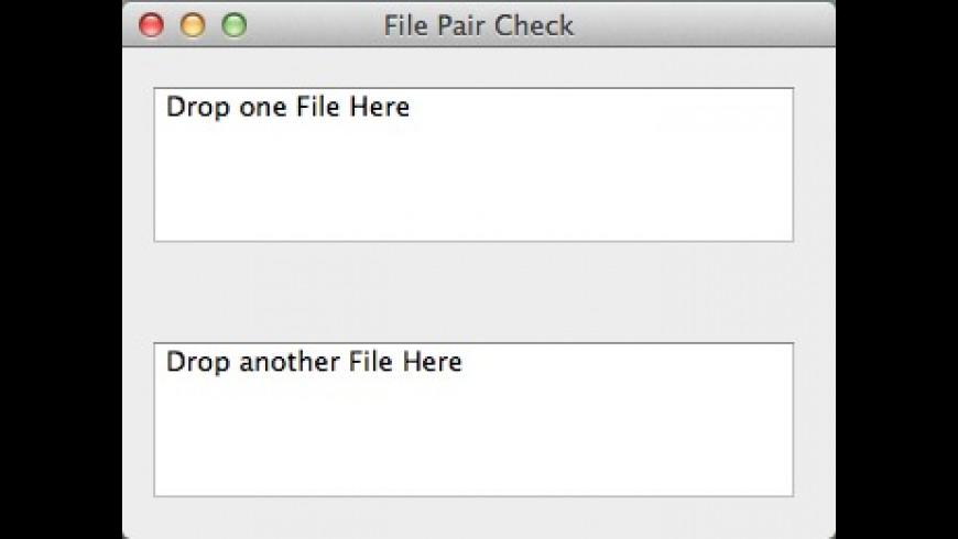 File Pair Check for Mac - review, screenshots