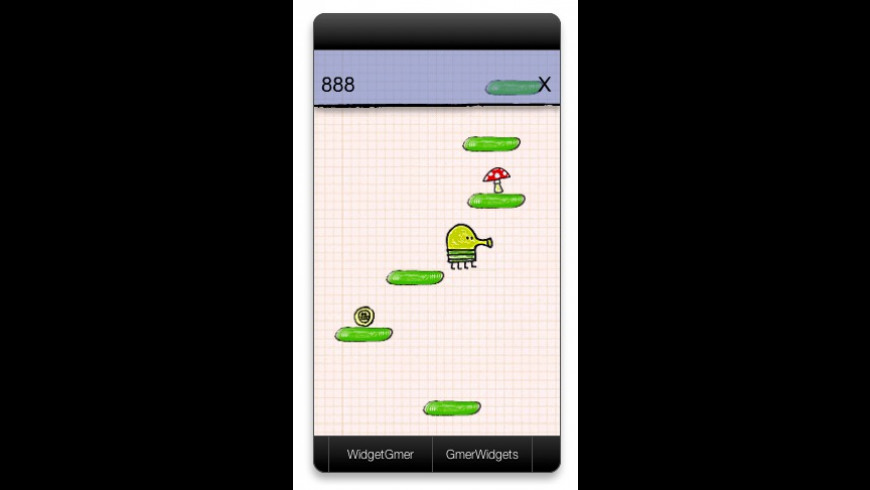 DoodleJump for Mac - review, screenshots