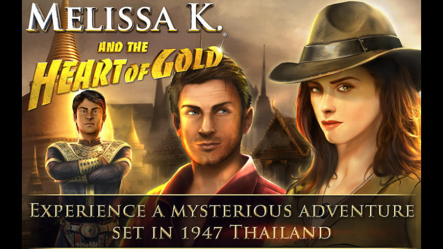 Melissa K. and the Heart of Gold HD Collector's Edition for Mac - review, screenshots