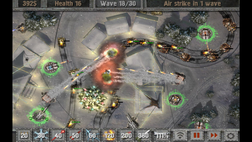 Defense Zone 2 for Mac - review, screenshots