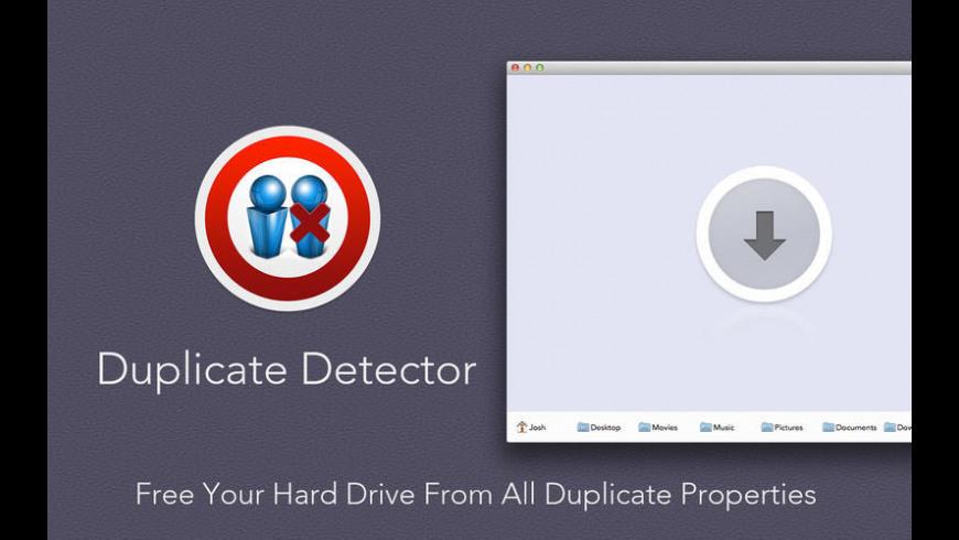 Duplicate Detector for Mac - review, screenshots