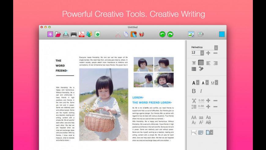 iWord for Mac - review, screenshots