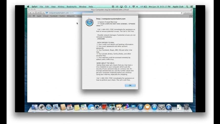 ScamZapper for Mac - review, screenshots