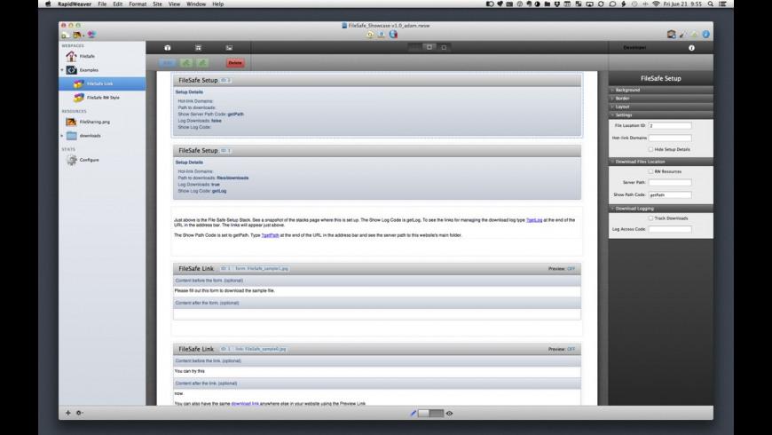 FileSafe for Mac - review, screenshots