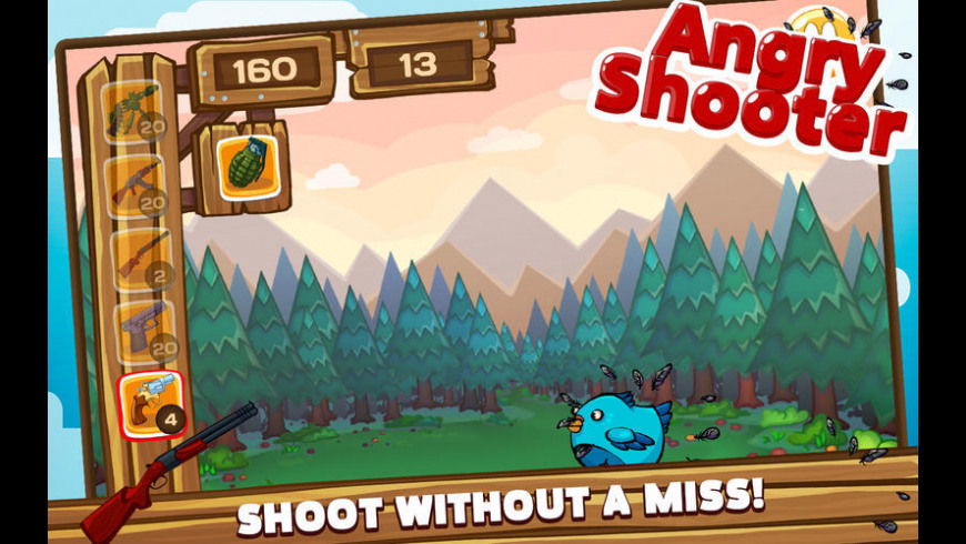 Angry Shooter PRO for Mac - review, screenshots