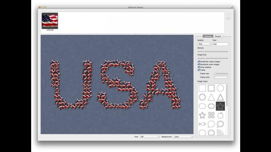 Softmatic Shapes for Mac - review, screenshots