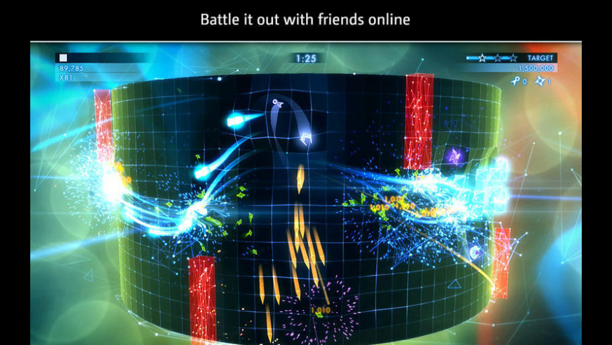 Geometry Wars 3: Dimensions for Mac - review, screenshots