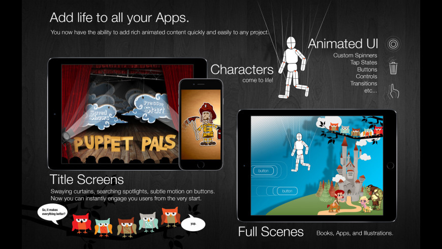 Core Animator for Mac - review, screenshots