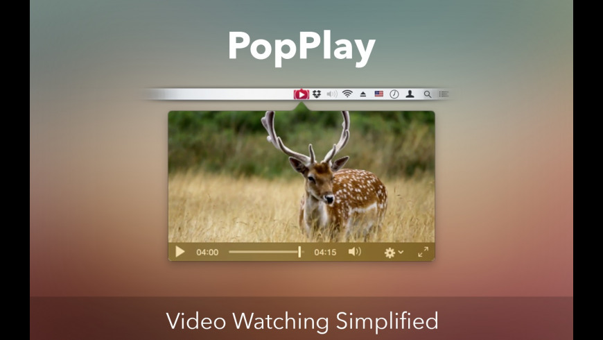 PopPlay for Mac - review, screenshots