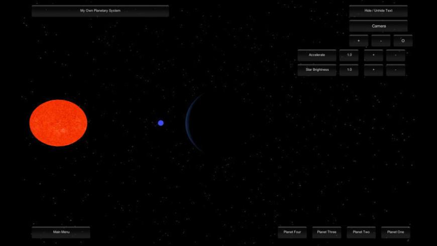 Astronomical Ipsilon Simulator for Mac - review, screenshots