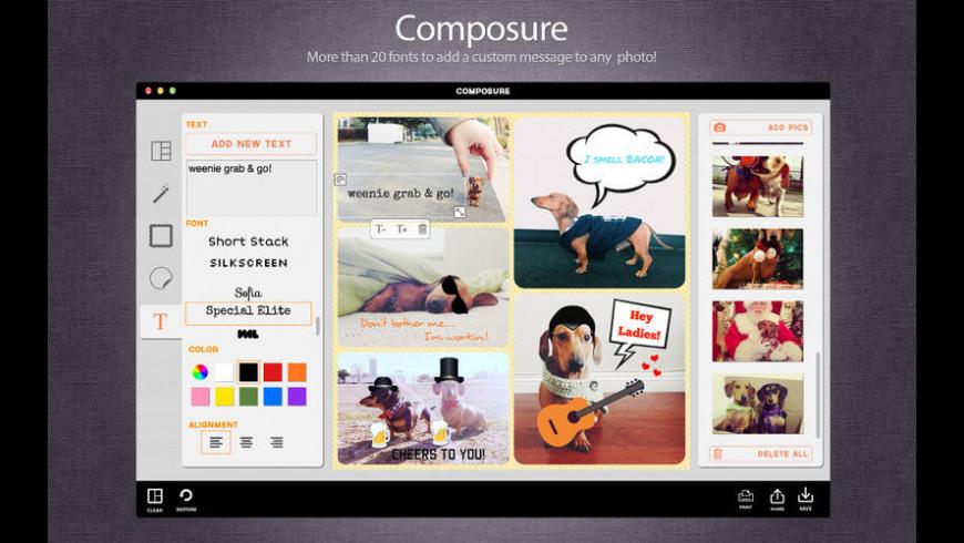 Composure for Mac - review, screenshots