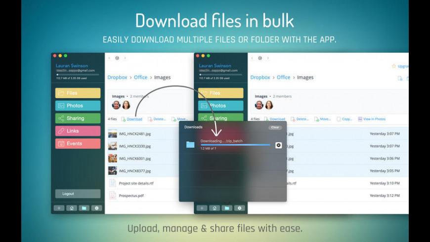 Spacious for Dropbox for Mac - review, screenshots