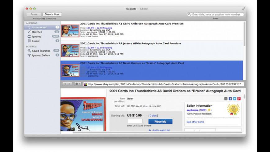 Nuggets for Mac - review, screenshots