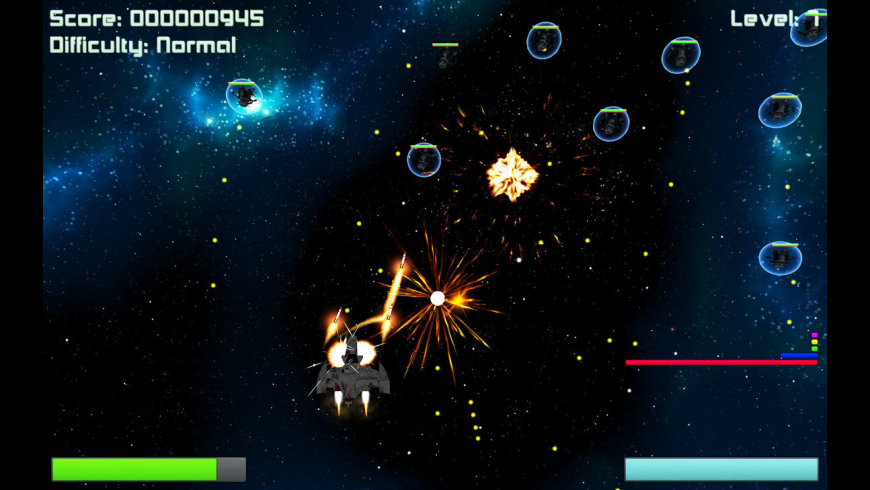 Deep Space Invaders for Mac - review, screenshots