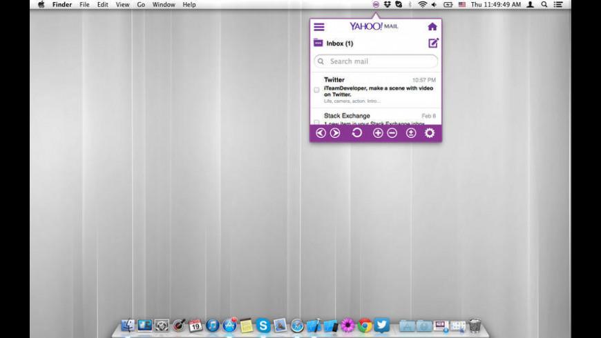 YMailTab for Mac - review, screenshots