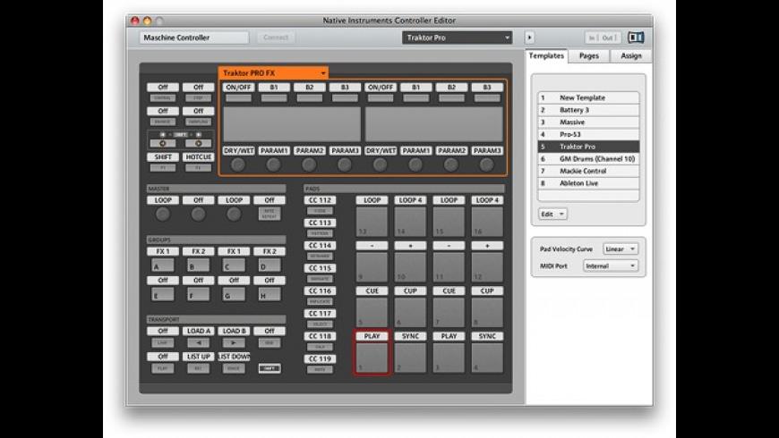 Controller Editor for Mac - review, screenshots
