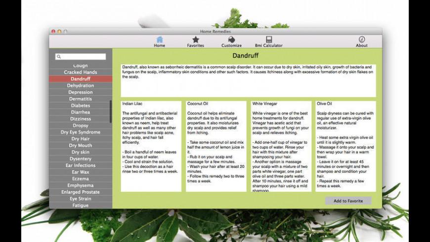 Home Remedies for Mac - review, screenshots