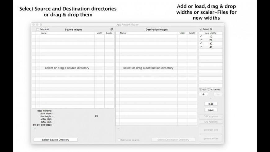App Artwork Scaler for Mac - review, screenshots