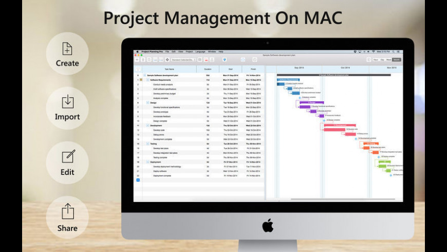 Project Planning Pro for Mac - review, screenshots
