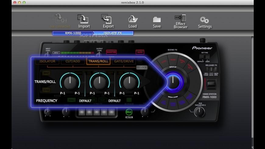 remixbox for Mac - review, screenshots
