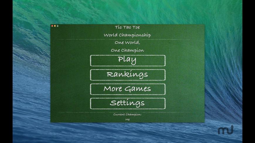 Tic Tac Toe World Championship HD for Mac - review, screenshots