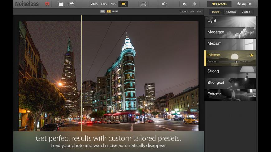 Noiseless CK for Mac - review, screenshots