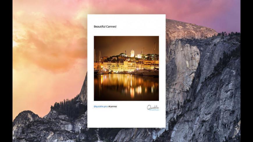 Quicklie for Mac - review, screenshots