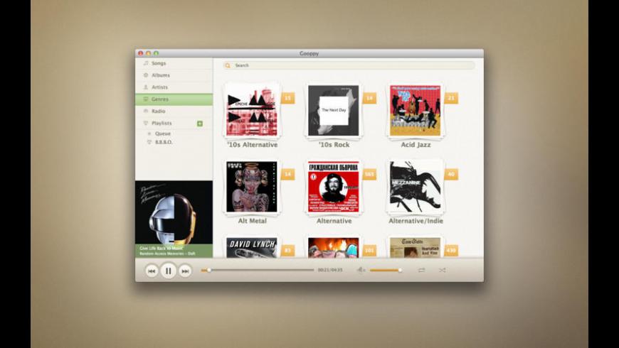 Gooppy for Mac - review, screenshots