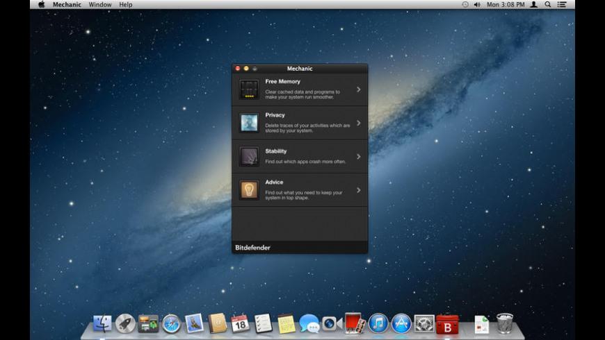 Mechanic for Mac - review, screenshots