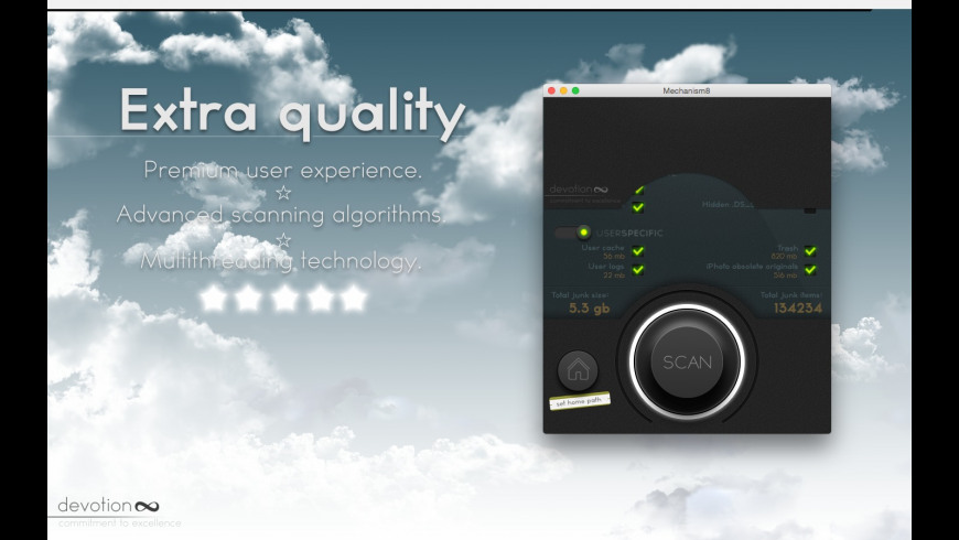 Mechanism8 for Mac - review, screenshots