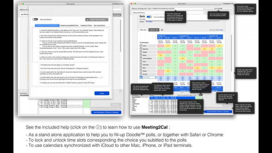 Meeting2Cal 1 2 1 Free Download for Mac | MacUpdate