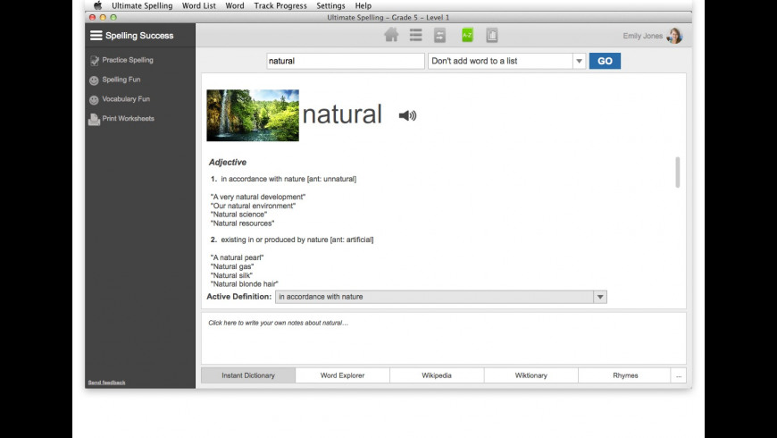 Ultimate Spelling for Mac - review, screenshots