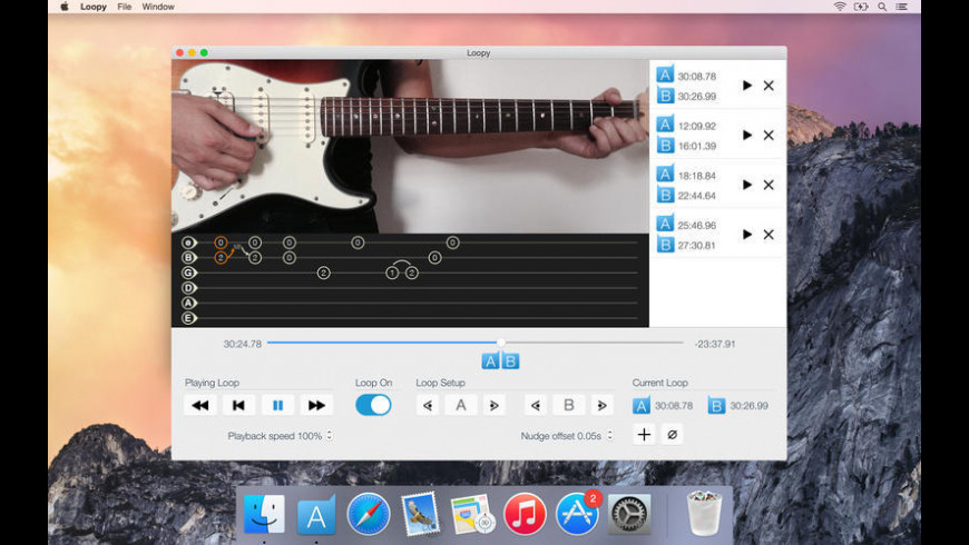 Loopy for Mac - review, screenshots