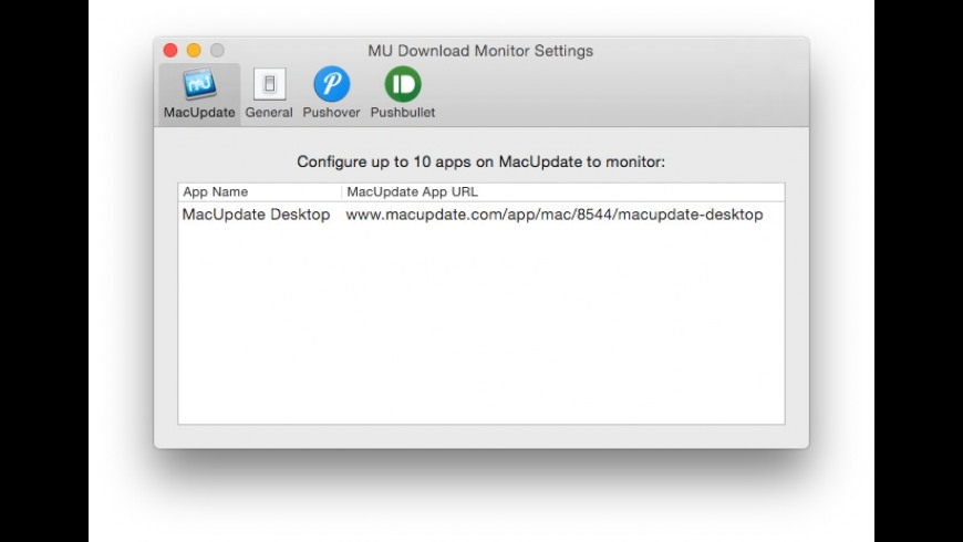 MU Download Monitor for Mac - review, screenshots