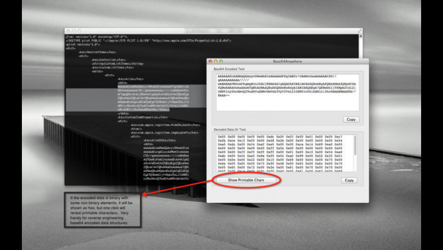 Base64Anywhere for Mac - review, screenshots