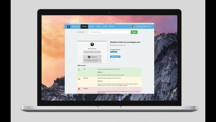 Peek for Mac - review, screenshots